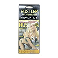 HUSTLER・セクシーガールエアフレッシュナー・芳香剤・ミッドナイトアイス(ブラックアイス風)・ホットガール・金髪美女 (2011-01)