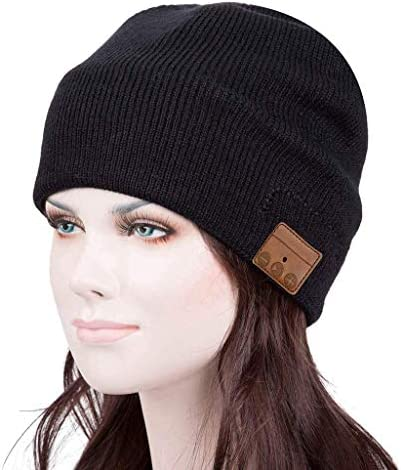 Bluetooth Beanie Hat Cap Winter Outdoor Sport Knit Toque with Wireless Stereo Headphone Headset product image