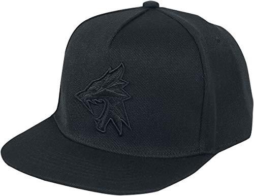 The Witcher Wolf Silhouette Männer Cap schwarz one Size 100% Polyacryl Fan-Merch, Gaming, TV-Serien
