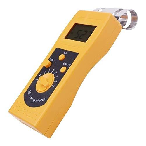 HYY-YY Präzises Instrument DM200P Digital Paper Feuchtemessgerät Tester 0-50{2ca1b3e458457b2c957f3fbf103f6eebc64b70631b40cebbf1aa5f6744b95faa} Paper Hygrometer Tragbarer Feuchtigkeitsmesser