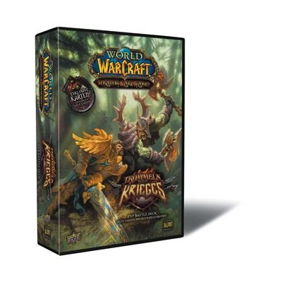 Upper Deck 221125 - TC World of Warcraft 2 Spieler Starter Deck - Trommeln Des Krieges (deutsch)