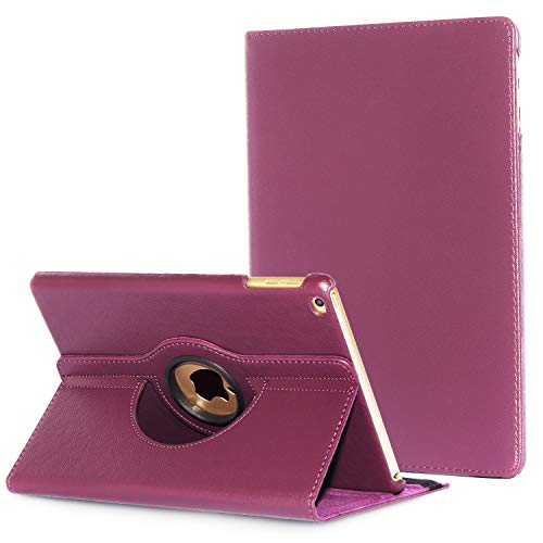 iPad Air 2 Coque Cover, Avril Tian rotatif à 360 ° Multi 180 ° écran de protection Flip Folio Stand Smart Coque pour Apple iPad Air 2 9.7 inch Tablette