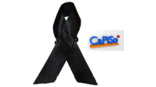 CaPiSo® Trauer BZW. Kondolenz Schleifen, um Beileidsbekundung zu Zeigen (2 Stück)