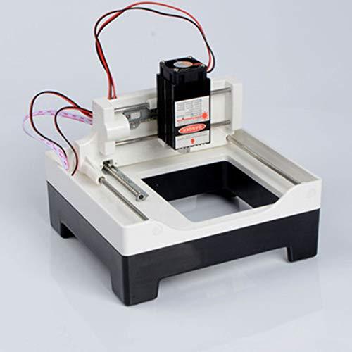 GNXTNX Máquina De Grabado Láser De Bricolaje Pequeña Máquina De Grabado Portátil Máquina De Marcado En Miniatura Máquina De Grabado De Vidrio Plástico Plástico Madera,4000mw