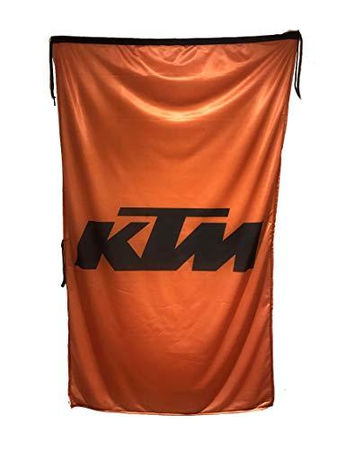 Beautiful Flag K-T-M Fahne, vertikal, Orange, 91 x 152 cm