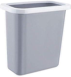 LONGren Trash Can,Plastic Kitchen Hanging Trash Bin Cupboard None Cover Waste Bin Fixed Garbage Bag Toilet Bathroom Living...