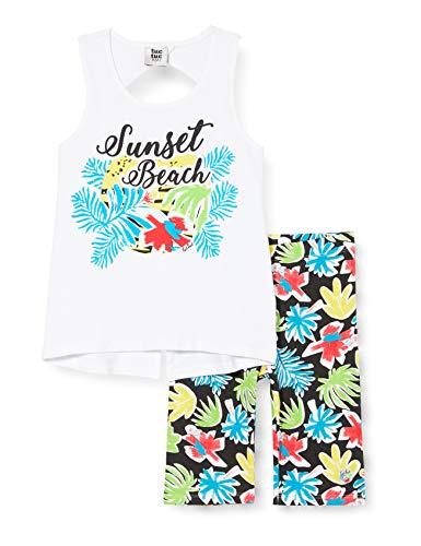 Tuc Tuc Conjunto Camiseta Y Legging Pirata Estampado NIÑA Verde Sunset Beach