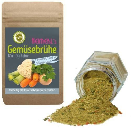 HEIMERLs Gemüsebrühe Nr.4 - Die Feine - 150g - mit Fenchel, Senf & Tomate - ohne künstliche Zusätze
