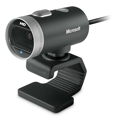 Webcam Cinema Usb Preta Microsoft - H5D00013