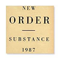 NEW ORDER Substance 1987 壁掛け 部屋飾り 掛け絵 キャンバス素材 背景絵画 壁アート 装飾 軽くて取り付けやすい