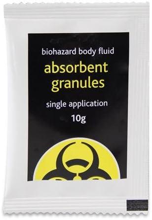 Super Absorbent Granules - 10g Sachet - Safely Clean Liquid Spil