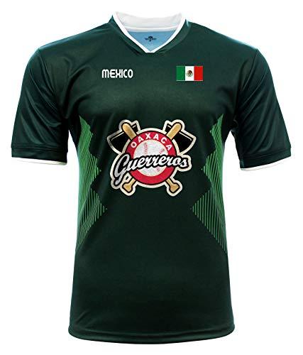 Jersey Mexico Guerreros de Oaxaca 100% Polyester_Made in Mexico (Medium) Green