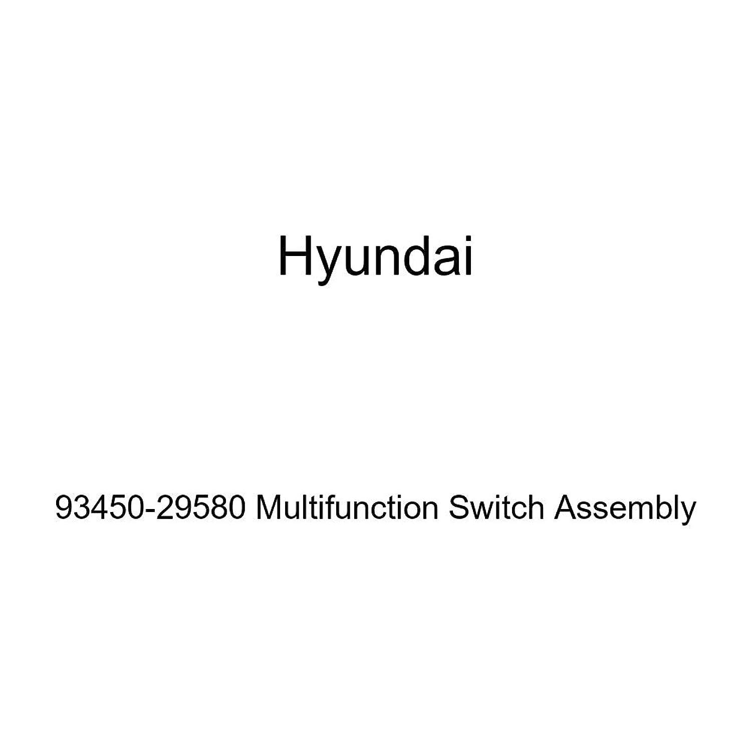 Genuine Hyundai 93450-29580 Multifunction Switch Assembly