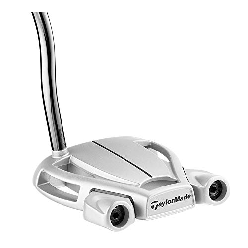 TaylorMade 2018 Spider Interactive Putter (SuperStroke, Double Bend, Right Hand, with Sightline, 34 Inches)
