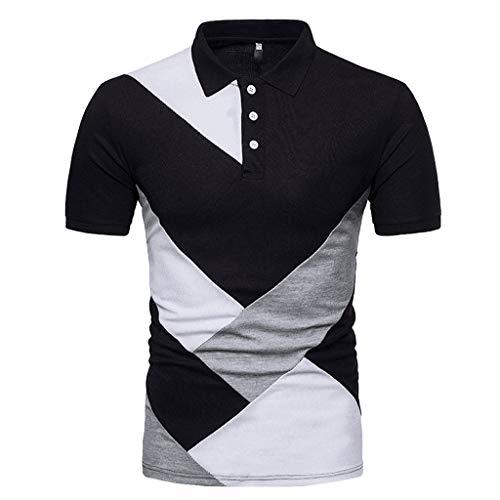 Linea uomo Charcoal Regular Fit Net Maglione girocollo con manica corta
