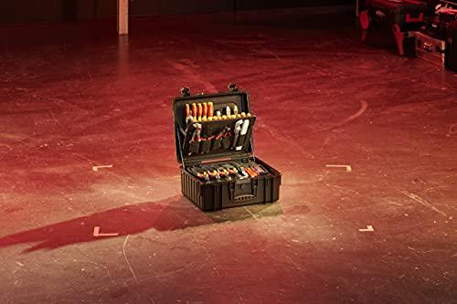 Wiha Werkzeug Set Elektriker Competence XL (40523), gemischt 80-tlg. in Koffer