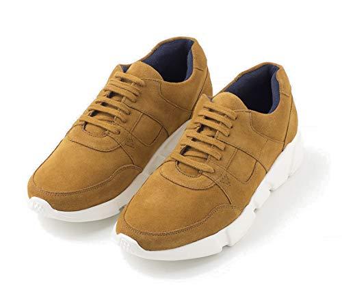 TEX - Zapatos Deportivos de Cuero para Hombre