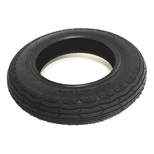 HUAQINEI Neumáticos para Scooter 10X2, Antideslizantes duraderos, engrosados, a Prueba de explosiones, neumáticos Interiores y Exteriores inflables de Goma universales Negros