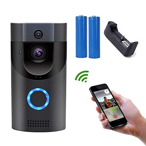 Videoportero inalámbrico. El video HD automático con cámara Wi-Fi con botón de detección de movimiento puede ser video