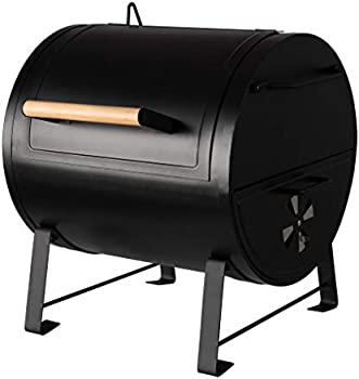Amazon Basics Table Top Charcoal Grill and Side Fire Box