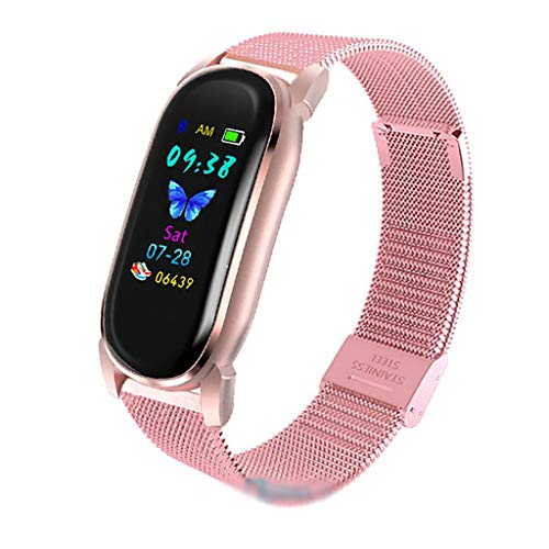 ZNS-B Smartwatch Relojes Inteligentes, Ver Temperatura Deportes Hombres Mujeres SmartWatch electrónica Inteligente de Reloj for Android iOS rastreador de Ejercicios Bluetooth SmartWatch