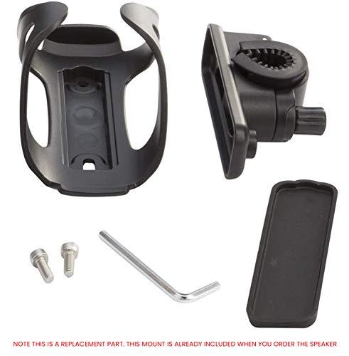 Portable Bluetooth 4.0 Speaker by CLEARON – Wireless Waterproof Speaker with Bike Mount & Remote – Premium Sound...