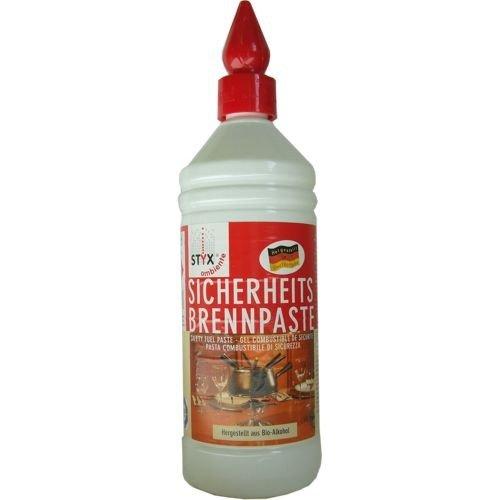 STYX Brennpaste, Bioalkohol Paste, 1 Liter Flasche