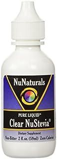 NuNaturals Pure Liquid Clear Stevia, 2 Ounces (Pack of 2) by Nunaturals