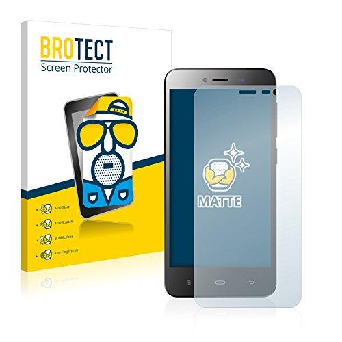 BROTECT 2X Entspiegelungs-Schutzfolie kompatibel mit Phicomm Clue L Bildschirmschutz-Folie Matt, Anti-Reflex, Anti-Fingerprint