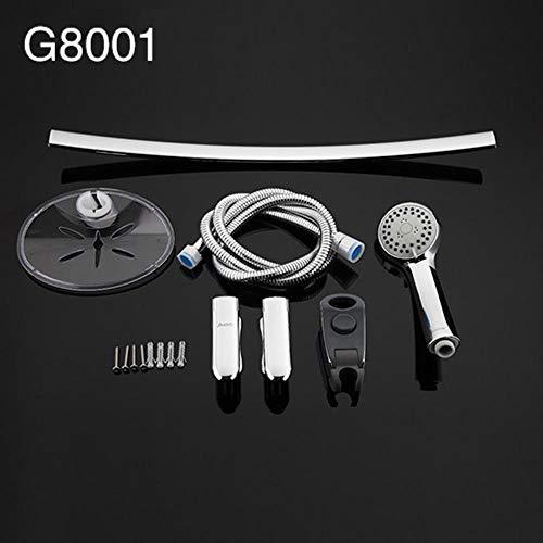 5151BuyWorld douchekraan, uittrekbare stangen, verstelbare douchestang voor wandmontage G8001