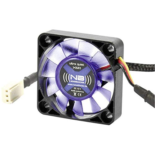 (((noiseblocker))) BlackSilentFan XM1 - 40x40x10mm - 3Pin - 2800U/min - 9dbA - 4.9m3/h