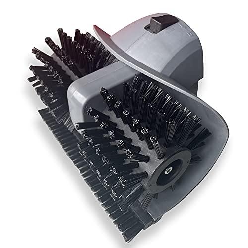 DDLL Cepillo de repuesto para cepillo eléctrico de césped artificial