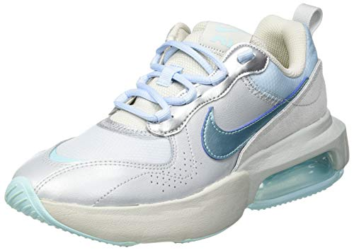Nike Air MAX Verona, Zapatillas para Correr Mujer, Mtlc Platinum Glacier Ice Lt Silver Lt Bone Celestine Blue Life Lime, 38.5 EU