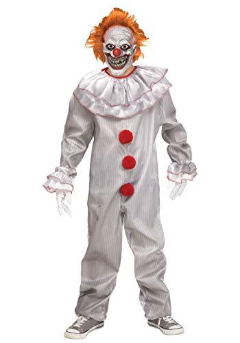 Carnevil Killer Clown Costume Boy's Medium