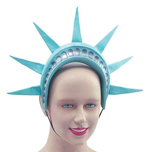 Bristol Novelty BA678 Freiheitsstatue Stirnband, womens, Blau, Einheitsgröße