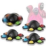 3pcs Pop Fidget Spinner Toys, Squid Game Bubble Pop It Juguete,...