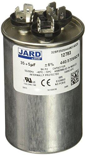 MARS - Motors & Armatures 12783 Round 35 + 5 uf MFD 440V VAC Motor Dual Run Capacitor