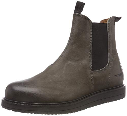 TEN POINTS Damen Carina Chelsea Boots, Grau (Darkgrey 203), 38 EU