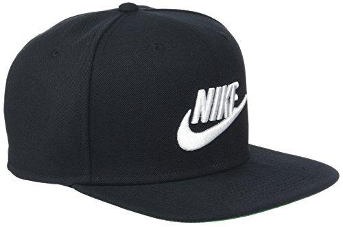 NIKE U NSW Pro Cap Futura Hat, Unisex Adulto, Black/Pine Green/Black/White, MISC