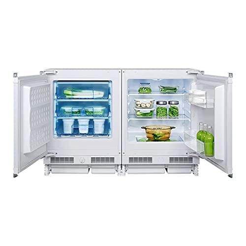 WDFDZSW Italiano incrustado pequeño refrigerador doméstico Mini refrigerado congelado Mesa Horizontal unirrientado refrigerador Corto