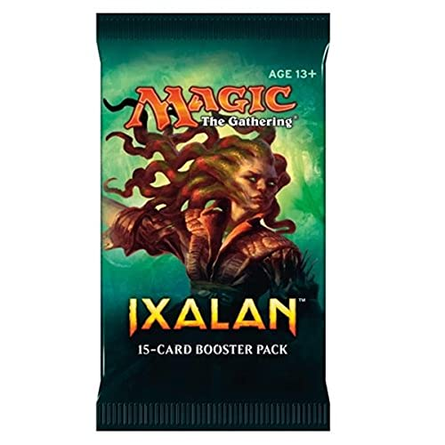 Magic The Gathering MTG-XLN-BD-EN Ixalan - Bolsa de Almacenamiento para Tarjetas