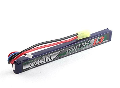 Turnigy nano-tech - Batería para airsoft (1300 mAh, 2S, 25-50 C, Lipo de litio)