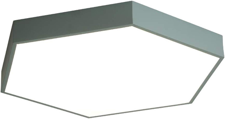TopDeng LED Decke Leuchten Modern, 18W 12  Dünne Deckenleuchte Errten-einfassung Deckenlampe Für Schlafzimmer Wohnzimmer-Dreifarbiges Licht 30cm-18W