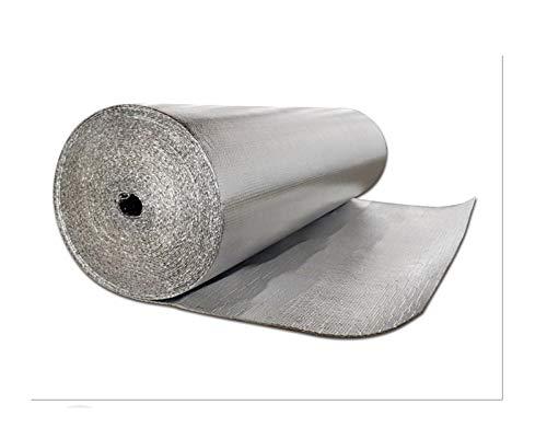 Aislamiento Termico Aluminio Reflexivo Autoadhesiva Película Acolchada De Aire Aislante Película Aislante Thermo Cover Rollo Aislante Térmico Aislamiento Termico Aluminio Reflexivo Para Techos Paredes