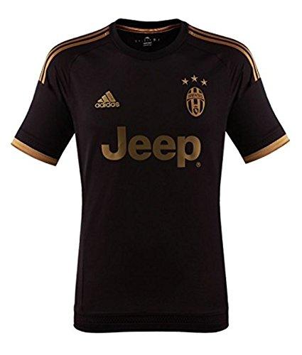 adidas Trikot Juventus Turin 2015-2016 Champions League (Black, XXL)