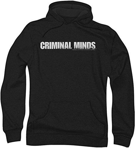 Criminal Minds - Herren Logo Hoodie, Large, Black