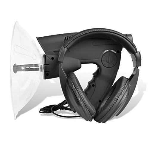Nishore Geräuschverstärker Richtmikrofon Abhörgerät Verstärkung Geräte 25 x 21 x 21 cm für Opernfreunde, Vogelbeobachter