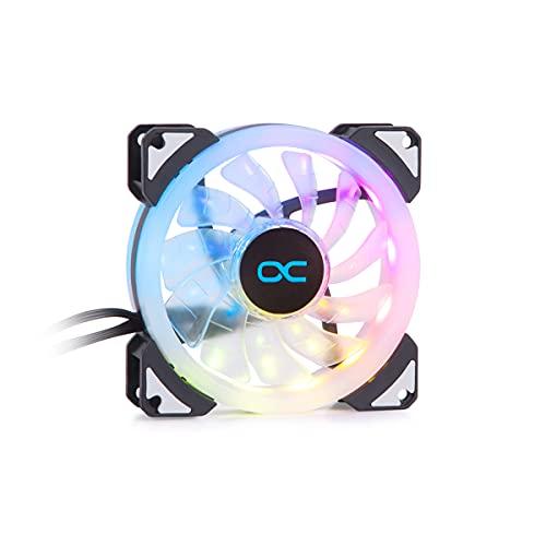 Alphacool 24814 Eiszyklon Aurora LUX Digital RGB (92x92x25mm) Lüfter Fan