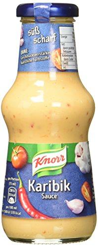 Knorr Schlemmersauce Karibik (süß-scharf mit mit karibischem Flair), 6er Pack (6 x 250 ml)