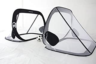 Pass 6x4, 5x3 & 4x3 Ft. Pop up/Fold-able & Portable Soccer Goals. Comes W/Carry Case(One Year Warranty!)